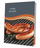 Fried Sausage Presentation Folder
