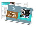 Cardio Device Postcard Template