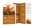 Sensual Massage Brochure Templates