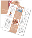 Female Breast Newsletter Template