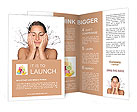 Washing Face Brochure Template