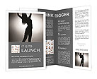 Graceful Woman Brochure Templates