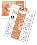 White Teeth Newsletter Template