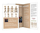 Four Skeletons Brochure Templates