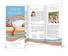 Sweet Sleeping Baby Brochure Templates