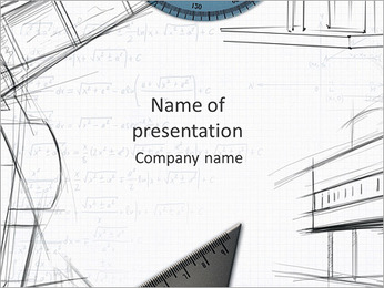 Architecht Drawing PowerPoint šablony
