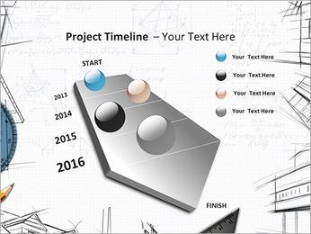 Architecht Drawing Modelos de apresentações PowerPoint - Slide 6