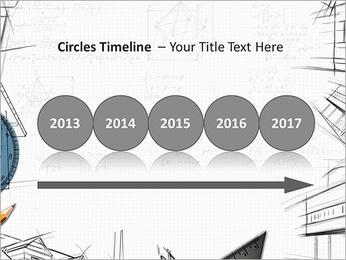 Architecht Drawing Modelos de apresentações PowerPoint - Slide 9