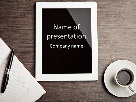 Use Ipad Powerpoint Template Backgrounds Google Slides Id