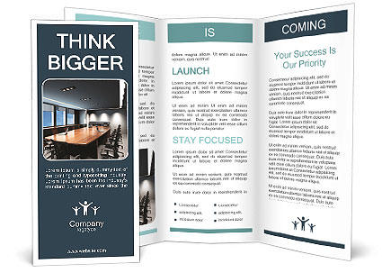 Conference Room Brochure Template  Design Id