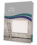 Grey Wall Presentation Folder