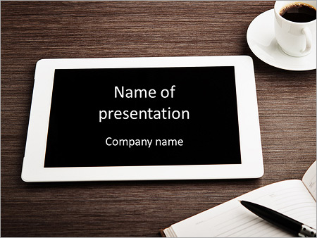 Modern ipad powerpoint template backgrounds id 0000007986 modern ipad powerpoint templates toneelgroepblik Gallery