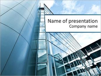 Alta Skyscraper Modelos de apresentações PowerPoint