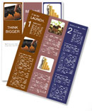 Orange Diagram Newsletter Templates