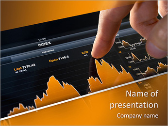 Orange Diagram PowerPoint Template