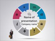 Компьютерные Символические знаки Шаблоны презентаций PowerPoint