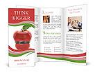 Apple Makes You Slim Brochure Templates