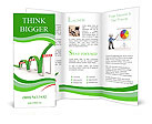 Arrow With Obstacles Brochure Templates