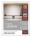 Find Balance Poster Template