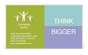 0000071292 Business Card Template