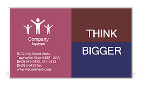 0000071297 Business Card Template