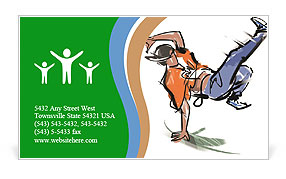 0000071338 Business Card Template