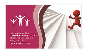 0000071343 Business Card Template