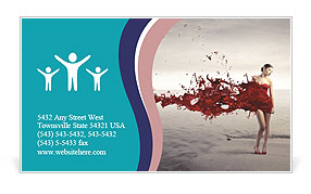 0000071396 Business Card Template