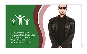 0000071405 Business Card Template
