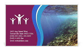 0000071417 Business Card Template