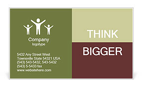 0000071593 Business Card Template