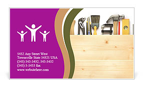 0000071601 Business Card Template