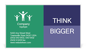 0000071604 Business Card Template