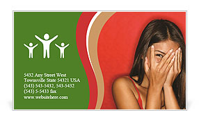 0000071619 Business Card Template