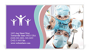 0000072001 Business Card Template