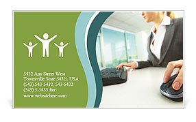 0000072340 Business Card Template