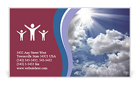 0000072343 Business Card Template