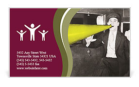 0000072400 Business Card Template