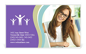 0000072491 Business Card Template