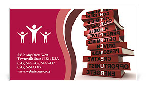 0000072541 Business Card Template