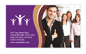 0000072664 Business Card Template