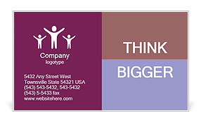 0000072709 Business Card Template