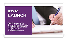 0000072719 Business Card Template