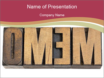 0000072816 PowerPoint Template - Slide 1