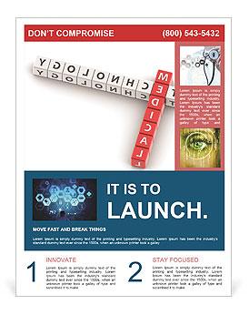 research flyer template smiletemplates com