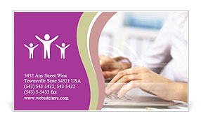 0000073013 Business Card Template
