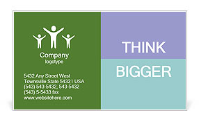 0000073015 Business Card Template