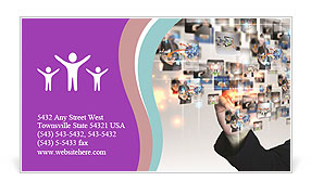 0000073087 Business Card Template