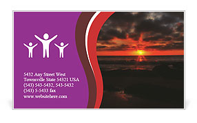 0000073232 Business Card Template