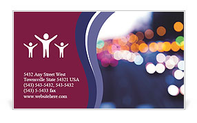 0000073234 Business Card Template